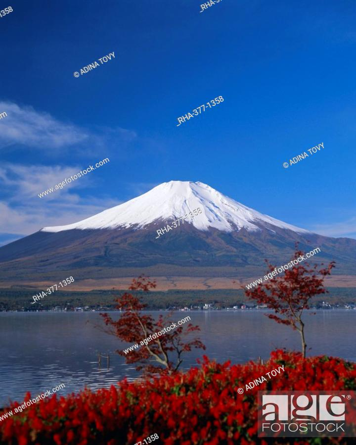 Mount Fuji, Honshu, Japan, Asia, Stock Photo, Picture And Rights