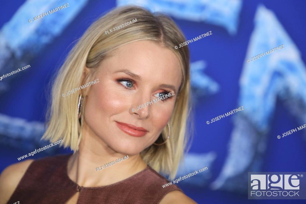 """Stock Photo: Kristen Bell at Disney's """"""""Frozen II"""""""" World Premiere held at the Dolby Theatre in Hollywood, CA, November 7, 2019. Photo Credit: Joseph Martinez / PictureLux."""
