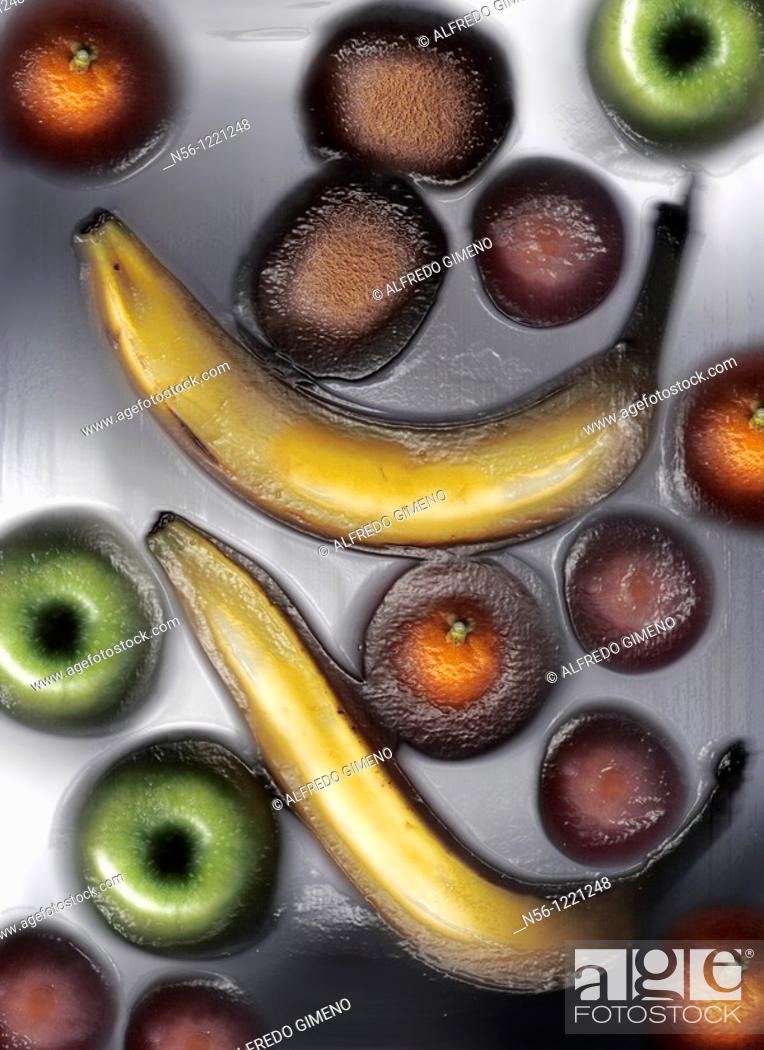 Stock Photo: Fruits.