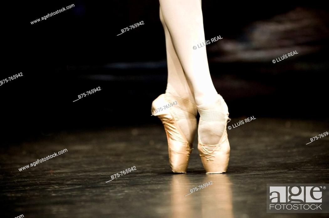 Stock Photo: Ballet.