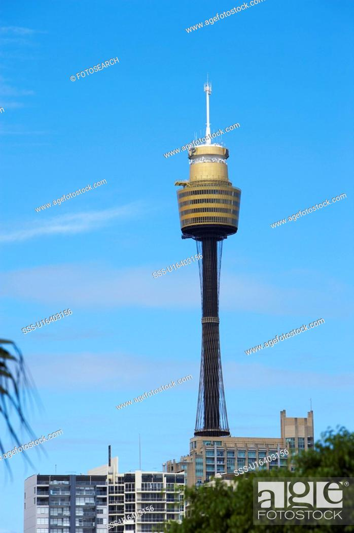 Stock Photo: AMP Tower, Sydney, Australia.