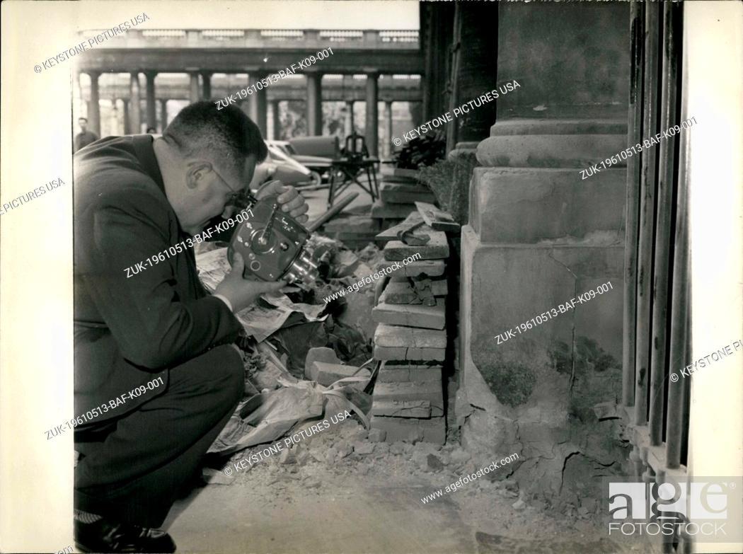 Stock Photo: May 13, 1961 - Paris 18th Arrondissement (Credit Image: © Keystone Press Agency/Keystone USA via ZUMAPRESS.com).