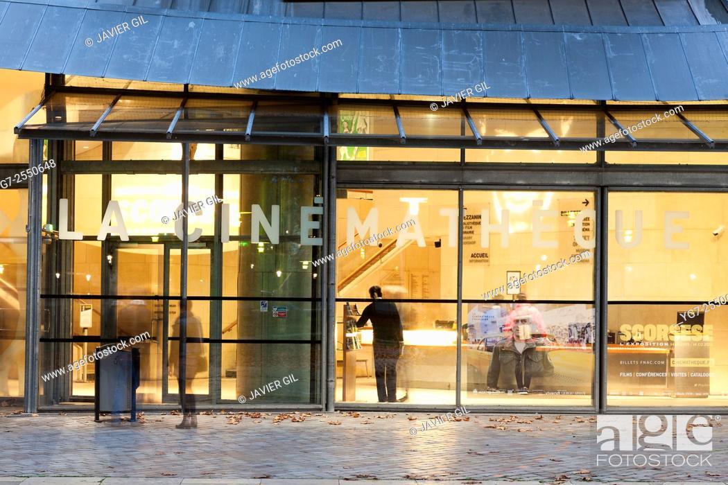 Stock Photo: La Cinematheque Francaise, Paris, Ile-de-france, France.
