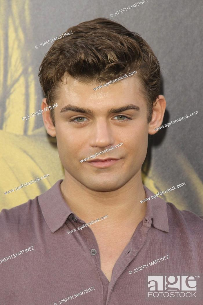 "Stock Photo: Garrett Clayton at Warner Bros. Pictures' """"The Kitchen"""" Premiere held at the TCL Chinese Theatre, Los Angeles, CA, August 5, 2019."