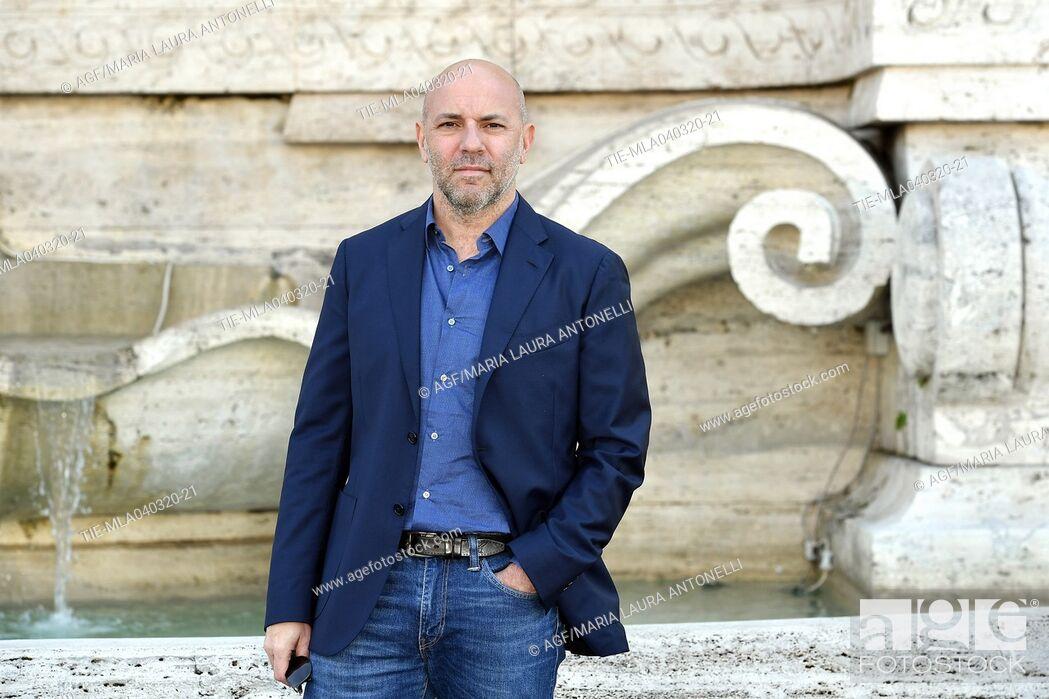 Stock Photo: Vincenzo Marra during 'La volta buona' film photocall, Rome, 04/03/2020.