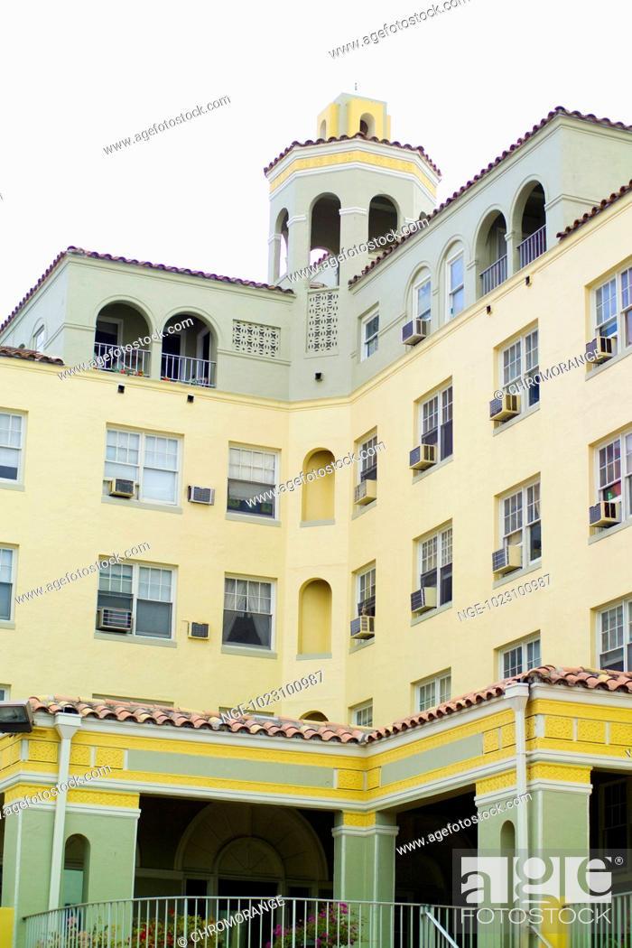 Imagen: Art Deco District, Miami, USA.
