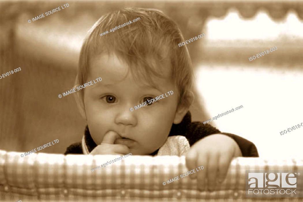 Stock Photo: Baby girl.