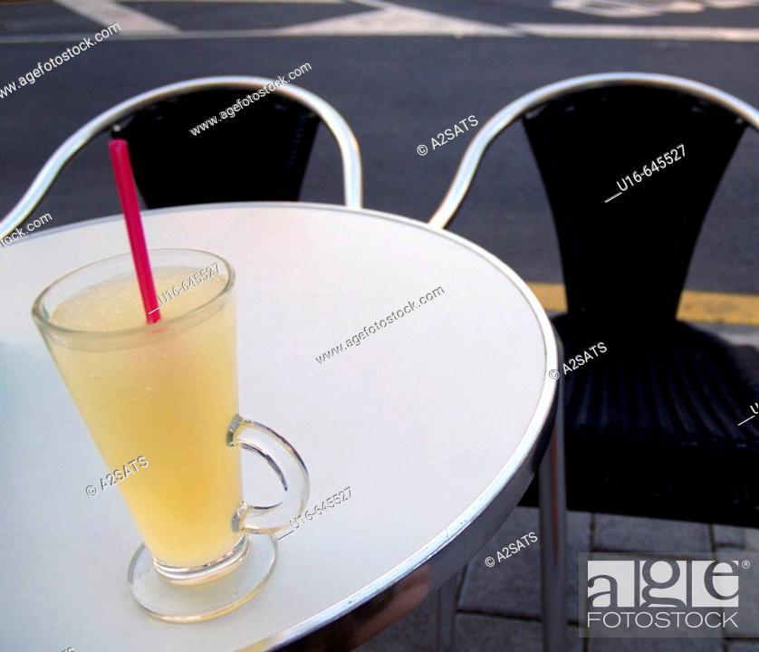 Stock Photo: Lemonade. Paterna, Comunidad  Valenciana. Spain.
