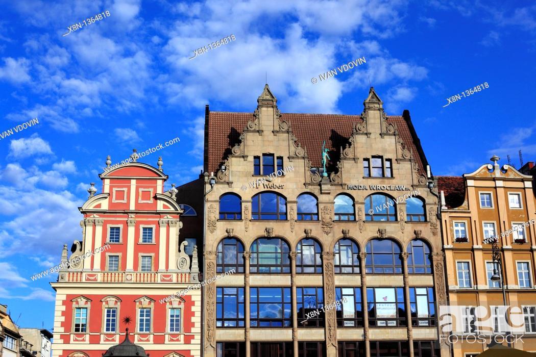 Stock Photo: Wroclaw, Lower Silesia, Poland.