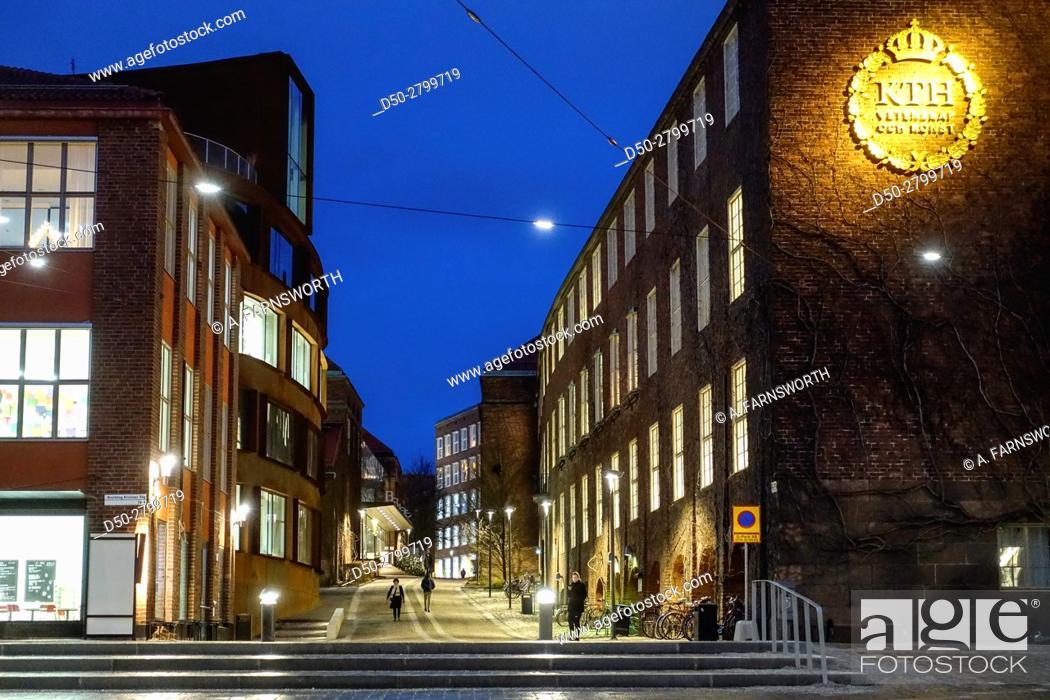 Imagen: STOCKHOLM, SWEDEN Campus Royal Institute of Technology or KTH.