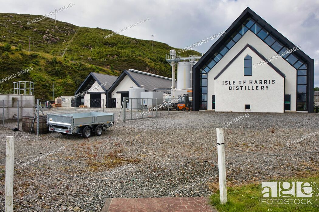 Stock Photo: Isle of Harris Distillery, Isle of Harris, Outer Hebrides.