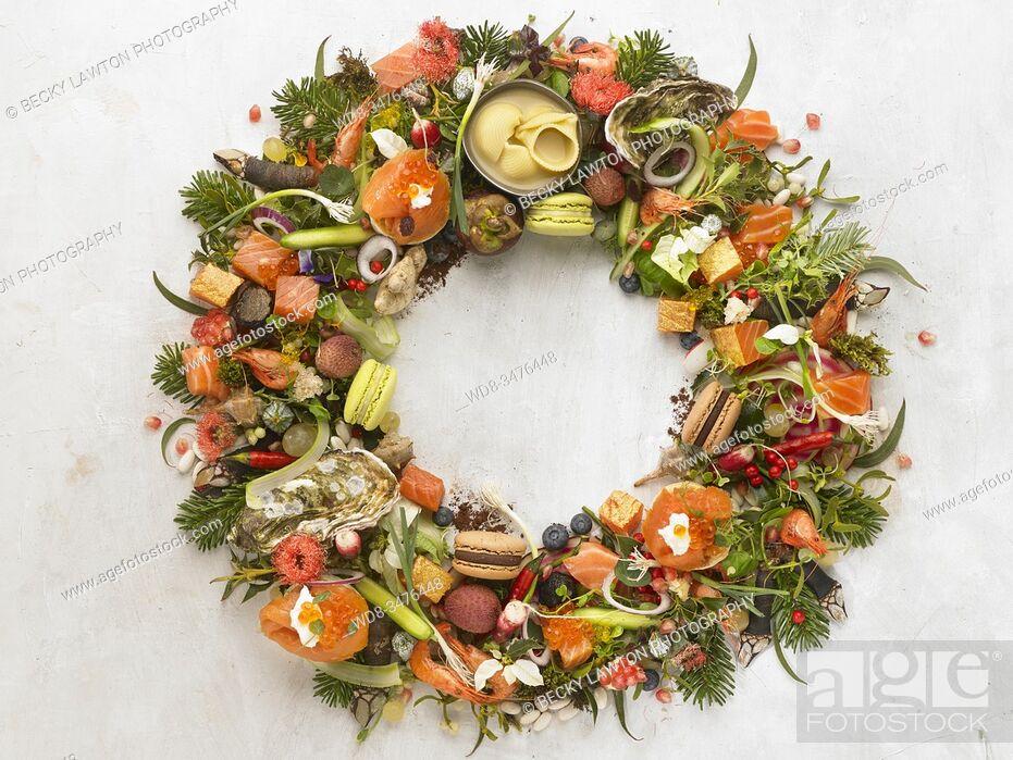 Stock Photo: Corona vegetal.