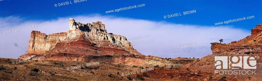 Stock Photo: San Rafael Swell, Utah, USA.
