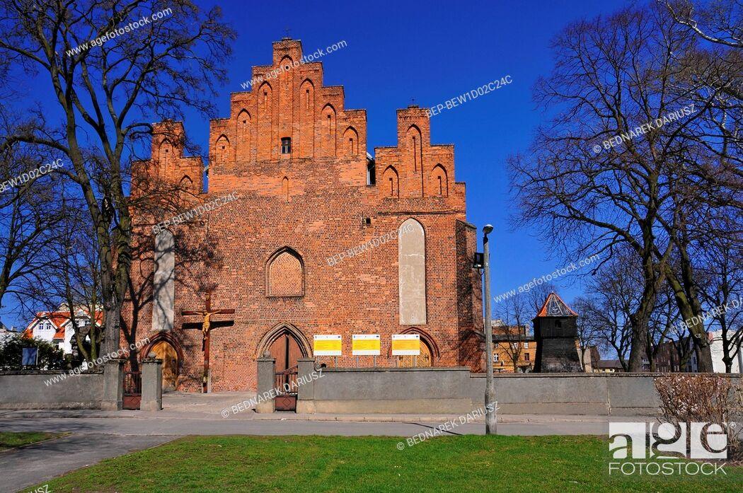 Imagen: Church of St. Nicholas. Inowroclaw, Kuyavian-Pomeranian Voivodeship, Poland.