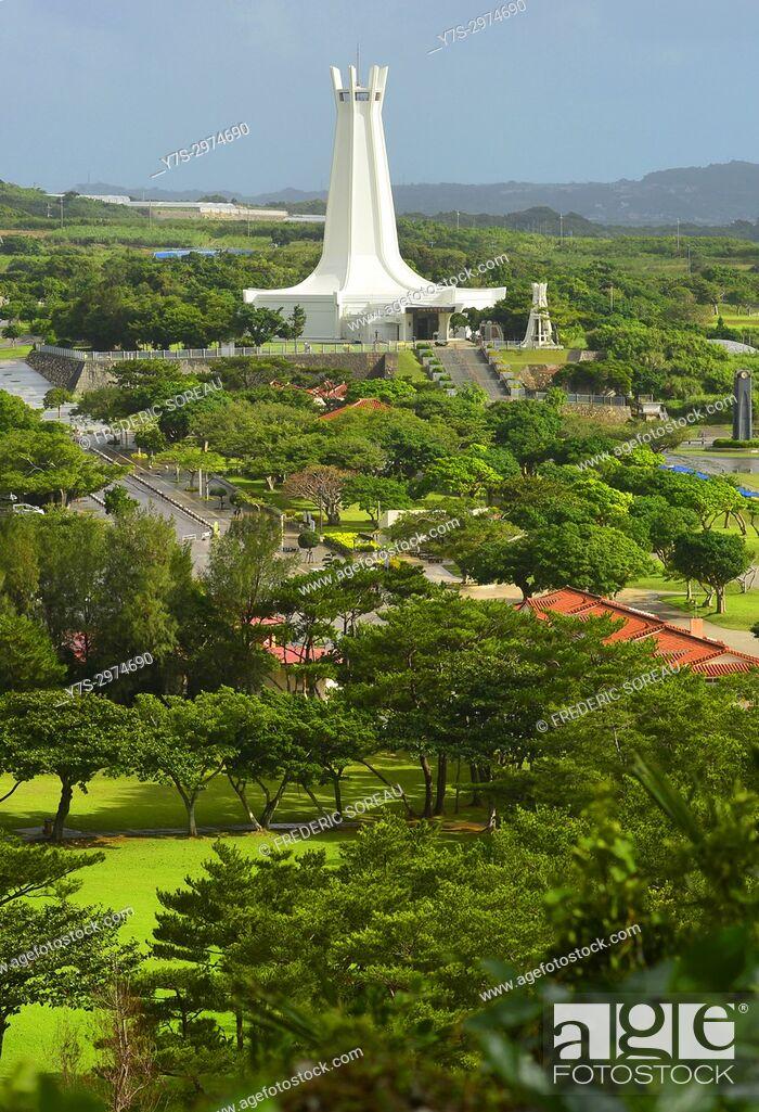 Stock Photo: Memorial Peace Park,Okinawa,Japan,Asia.