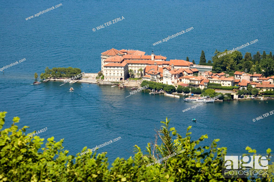 Stock Photo: Isola Bella, Lago Maggiore. Piedmont, Italy.