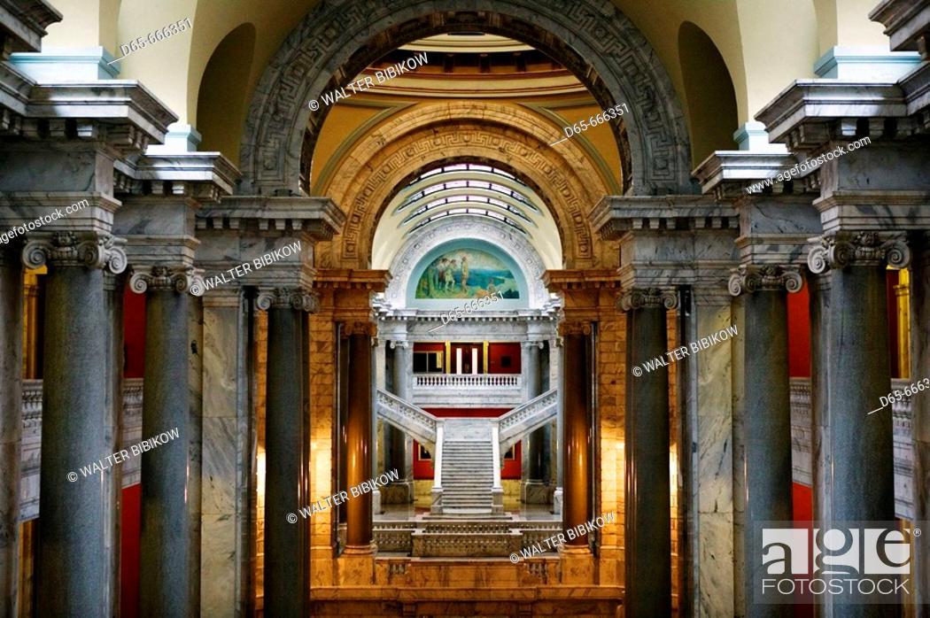 Stock Photo: USA-Kentucky-Frankfort: Kentucky State Capitol / Interior.