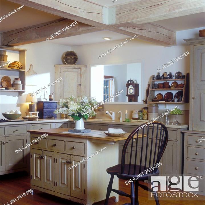 Cream Colored Distressed Kitchen Cabinets 2021