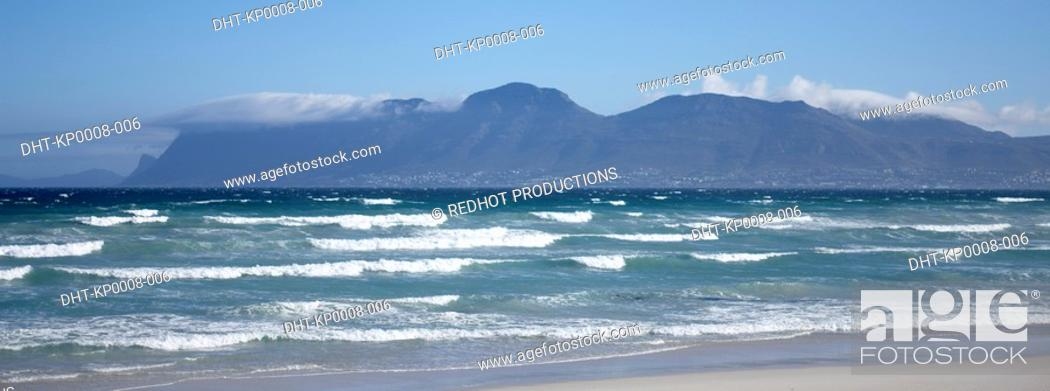 Stock Photo: Cape Town Beach, South Africa.