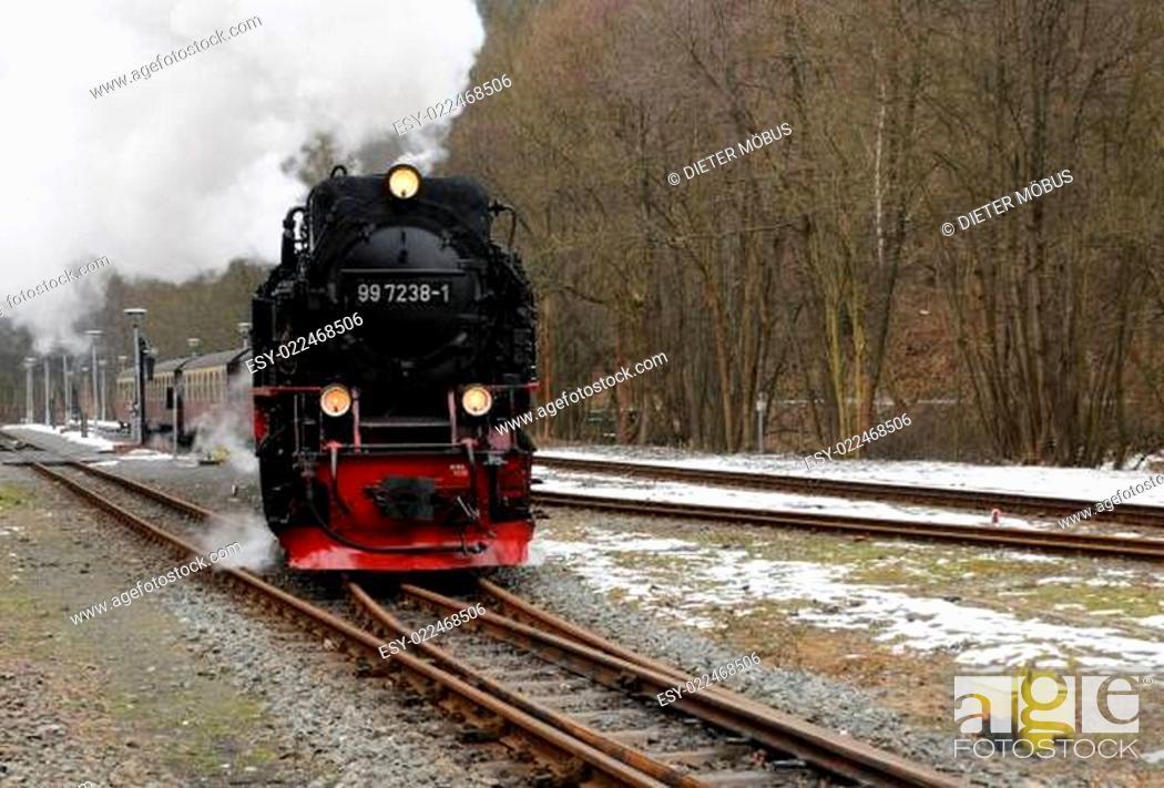 Stock Photo: Brockenbahn.
