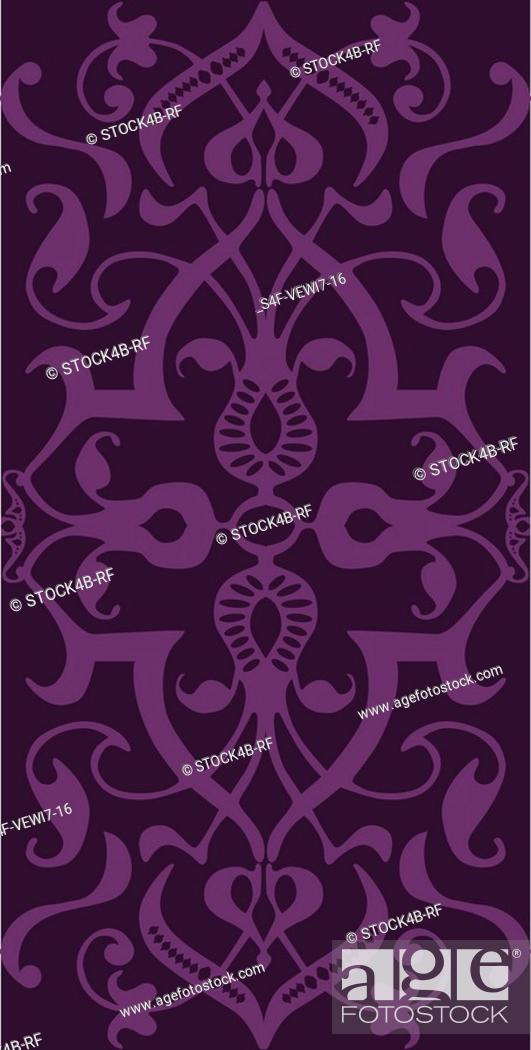 Stock Photo: Symmetrical pattern.