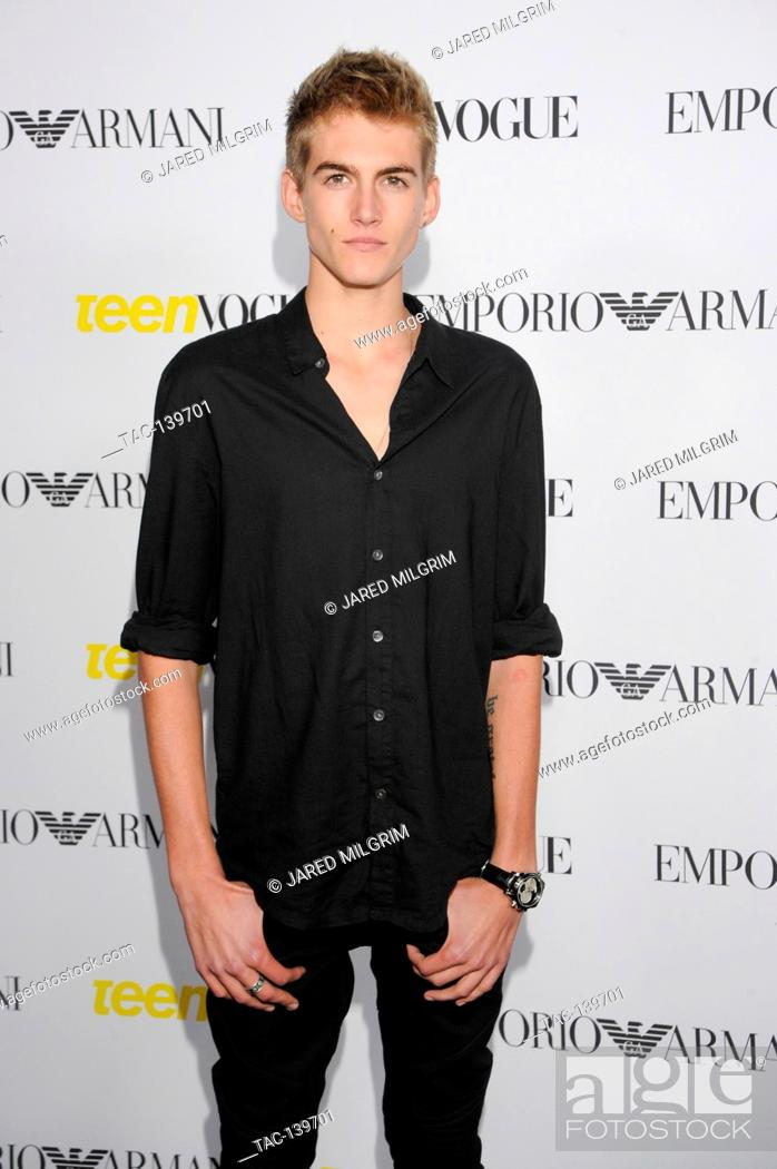 Stock Photo: Presley Gerber attends the Teen Vogue Young Hollywood Issue Party on October 2nd, 2015 in Beverly Hills, California.