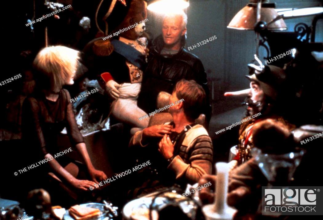 Stock Photo: Rutger Hauer, Blade Runner 1982.