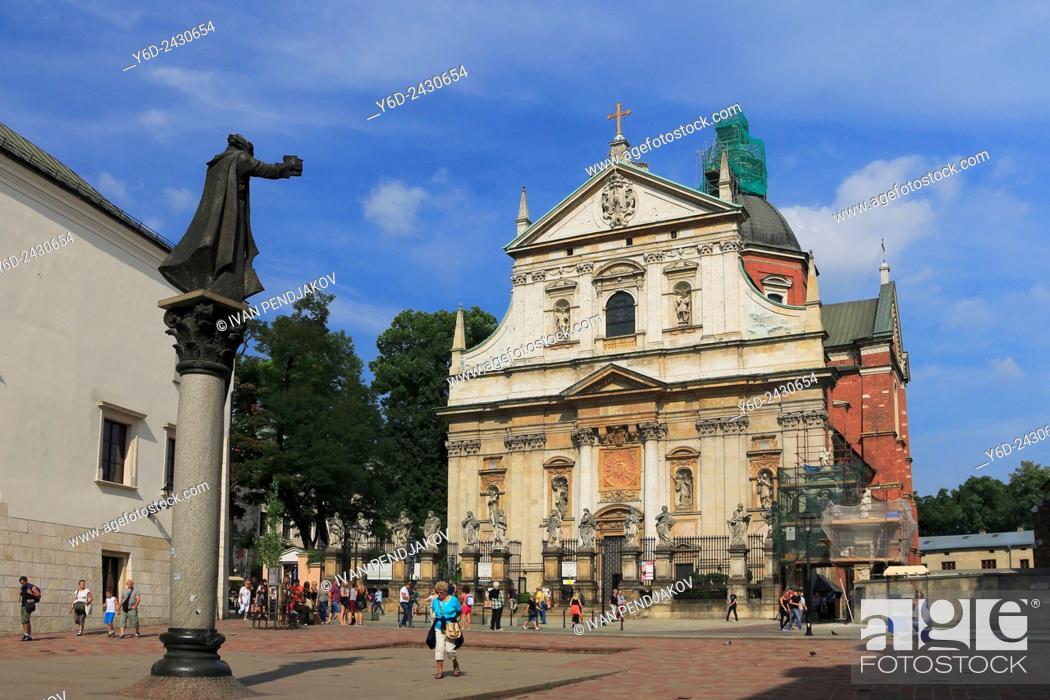 Stock Photo: Saints Peter and Paul Church, Krakow, Poland.