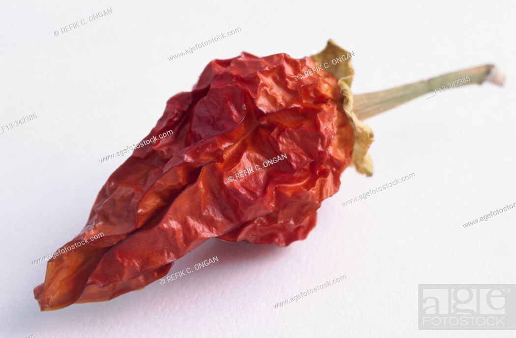 Stock Photo: Red dry pepper.