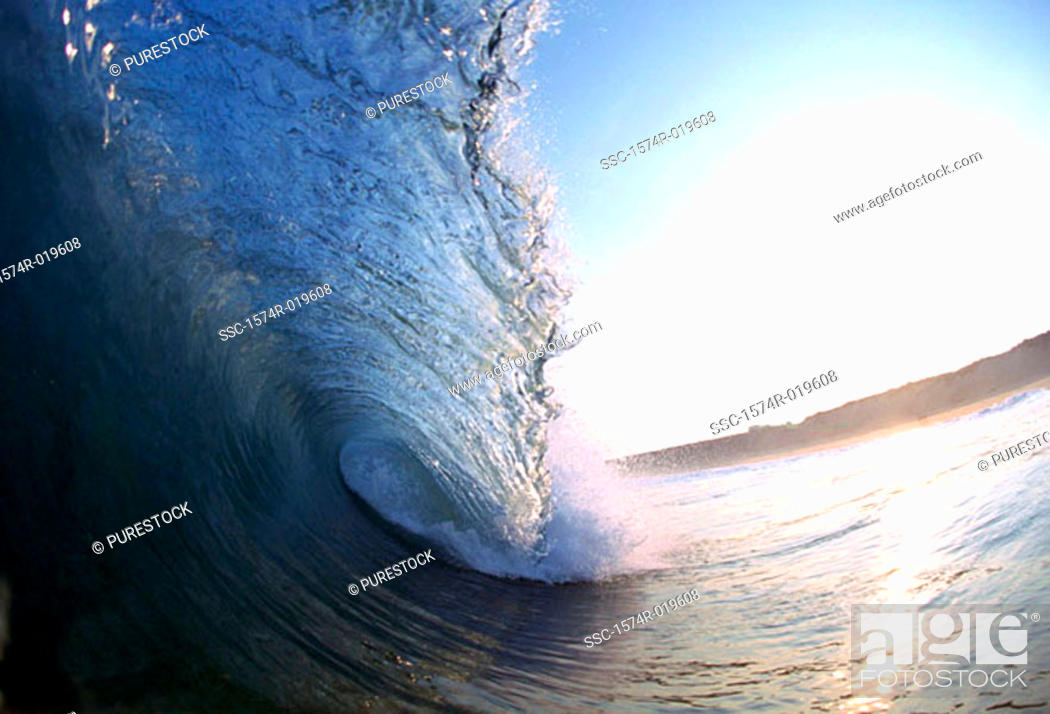 Stock Photo: Close-up of waves in the sea.