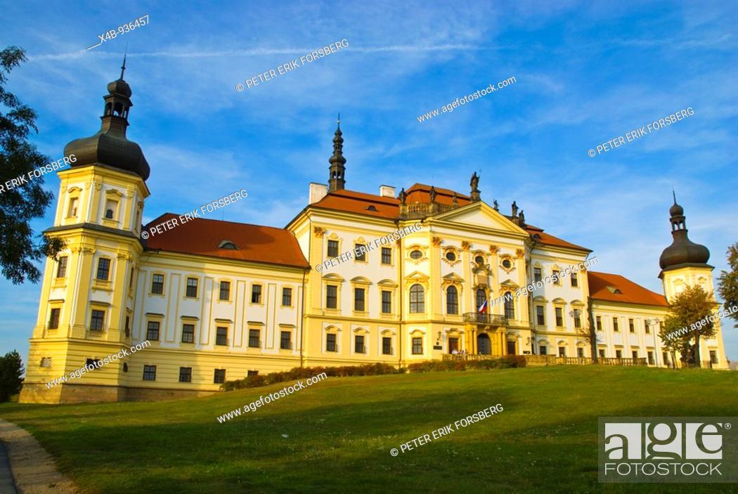 Stock Photo: Hradisko monastery in Olomouc Czech Republic Europe.