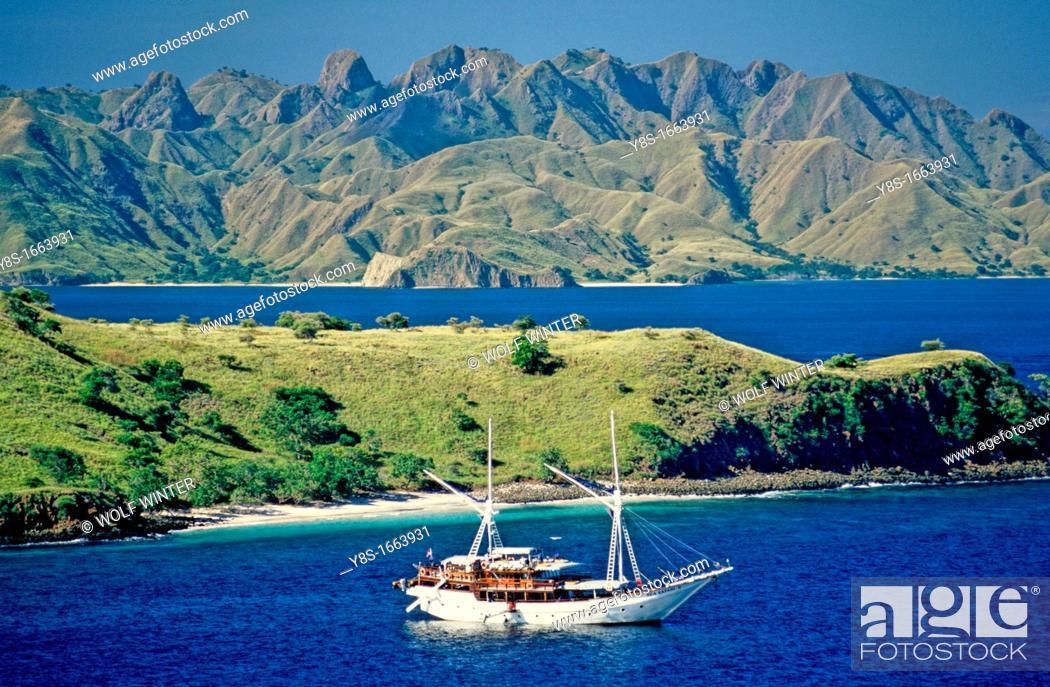 Stock Photo: Komodo Island.