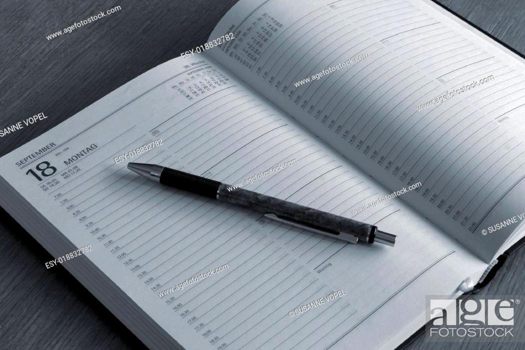 Imagen: Terminkalender.