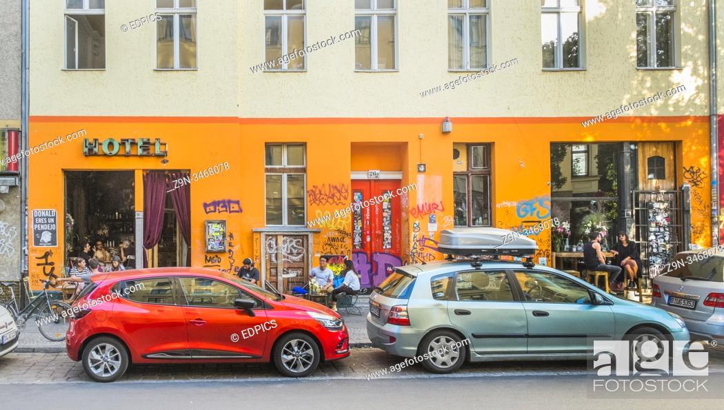 Stock Photo: das hotel, bar, berlin, germany.