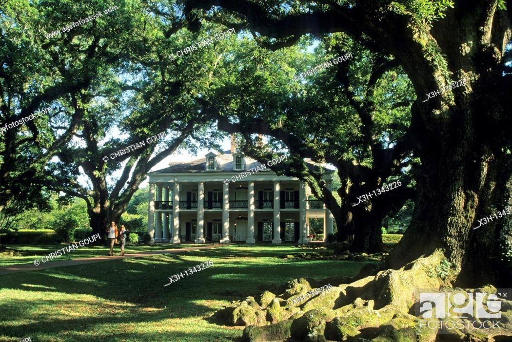 Imagen: Oak Alley Plantation, Vacherie, Louisiana, United States of America, Americas.