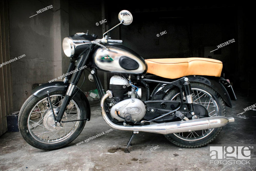 Stock Photo: R.O.A., model 1956, 250cc.