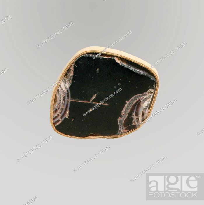 Imagen: Glass mosaic inlay fragment. Period: Early Imperial; Date: late 1st century B.C.-early 1st century A.D; Culture: Roman; Medium: Glass; cast; Dimensions: Other:.