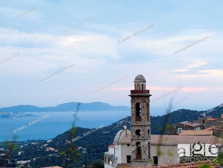Stock Photo: Corsican landscape.