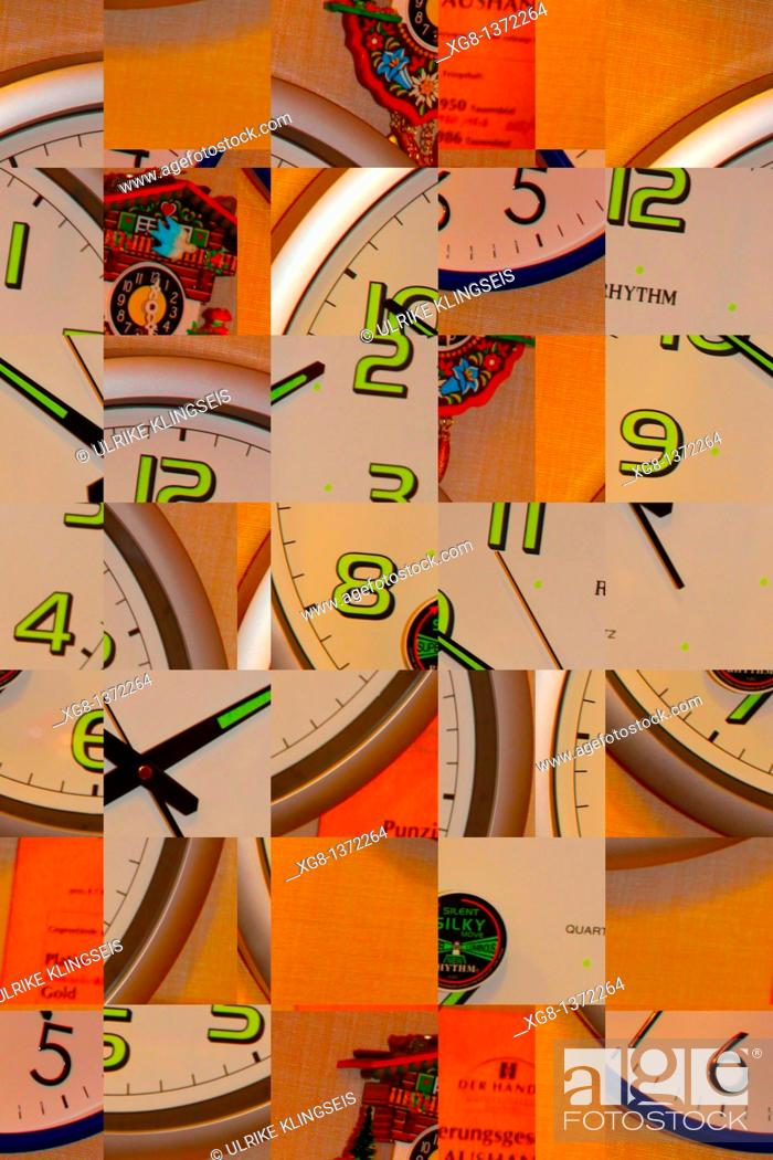 Stock Photo: time abstract, composition.