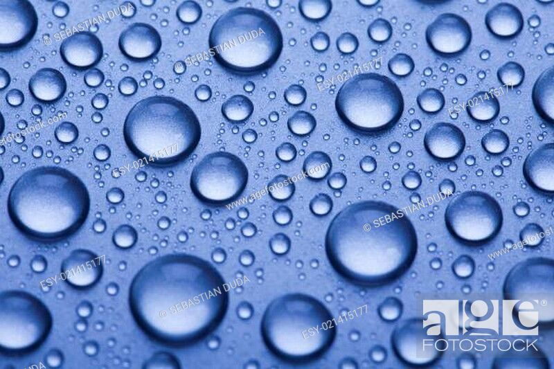 Stock Photo: Drops background.