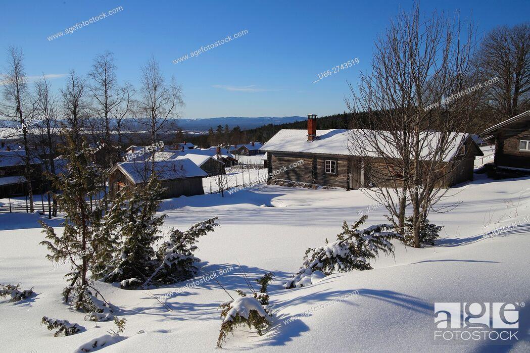 Imagen: Wintertime, Fryksas, Dalarna, Sweden.