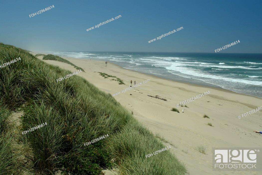 Stock Photo: Florence, OR, Oregon, Pacific Ocean, Pacific Coast Scenic Byway, Rt Route, Highway 101, Oregon Dunes National Recreation Area, Siuslaw National Forest, Jessie M.