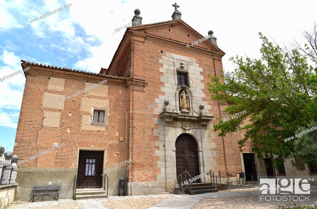 Stock Photo: Peñaranda de Bracamonte, Madres Carmelitas Convent (17th century). Salamanca province, Castilla y Leon, Spain.