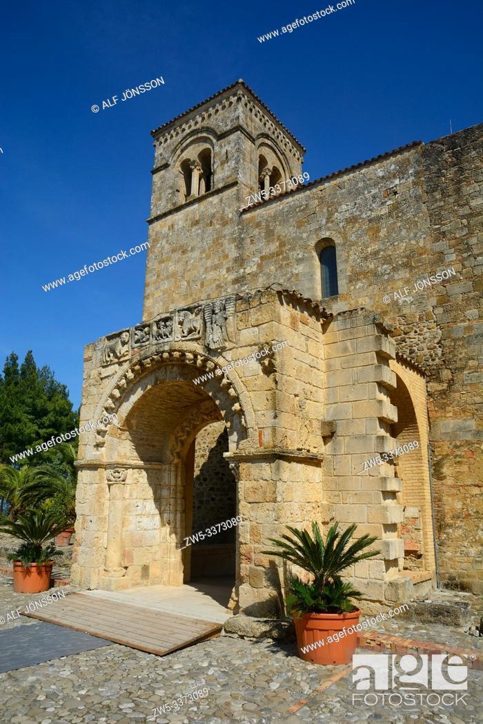 Stock Photo: Anglona church in Matera district, Basilicata, Italy.
