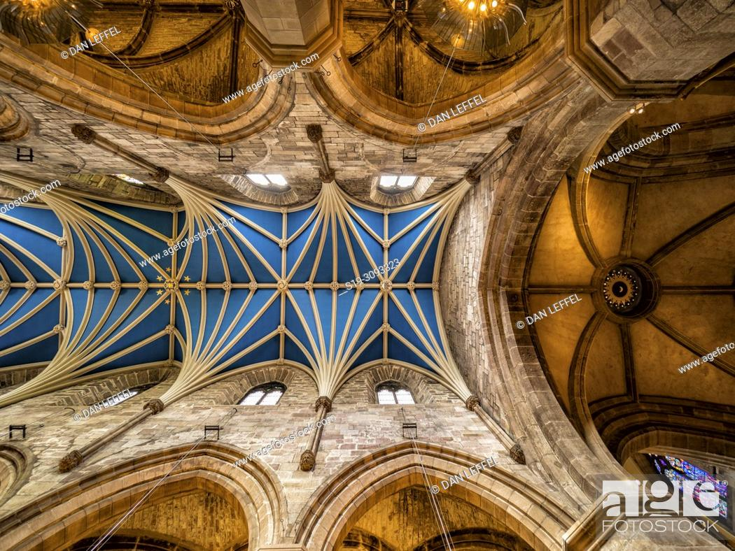 Imagen: Edinburgh Scotland St Giles Church.