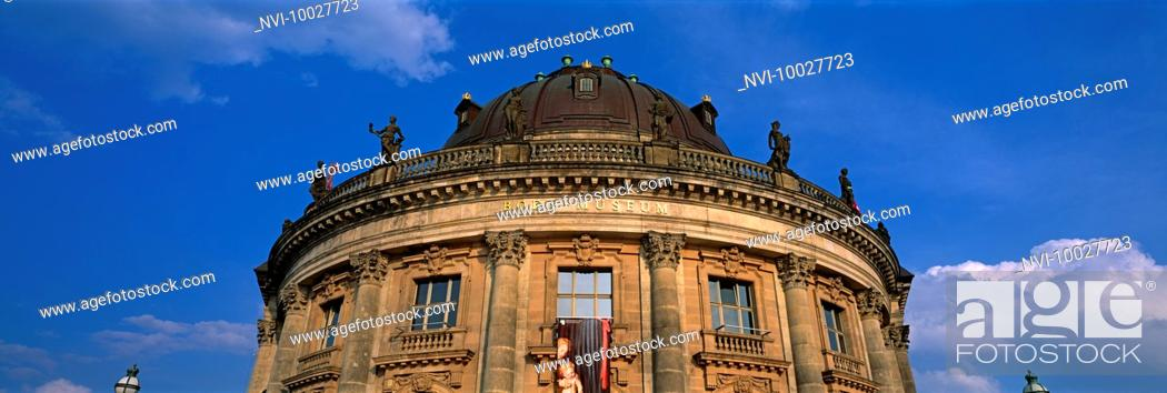 Stock Photo: Bode Museum, Berlin, Germany.