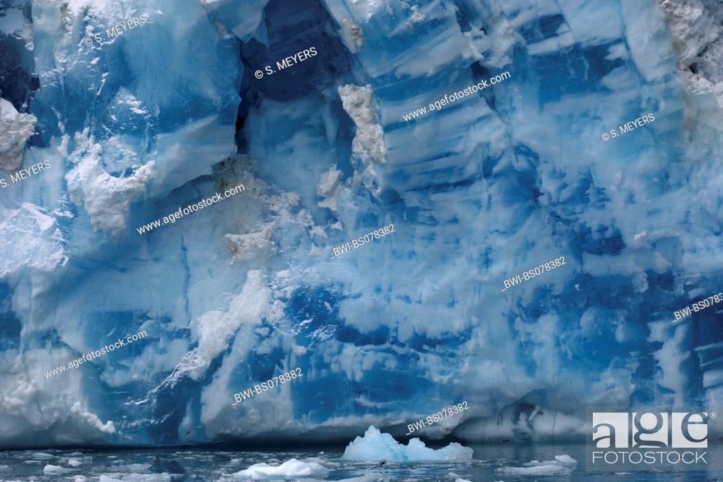 Imagen: glacier in Drygalski Fjord, Antarctica, Suedgeorgien.
