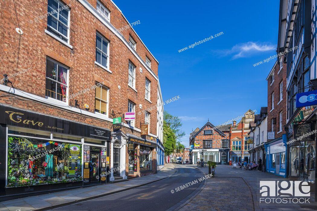 Stock Photo: Shrewsbury, Shropshire, England, United Kingdom, Europe.