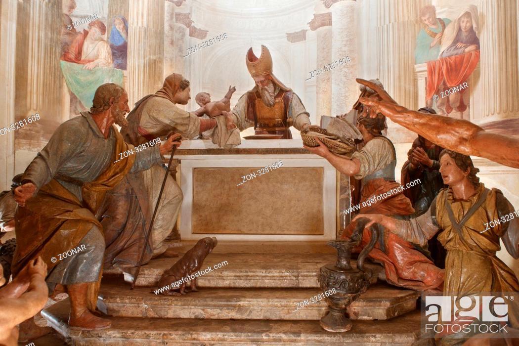 Varese Italien jesus wir beschnitten kapella am sacro monte di varese italien