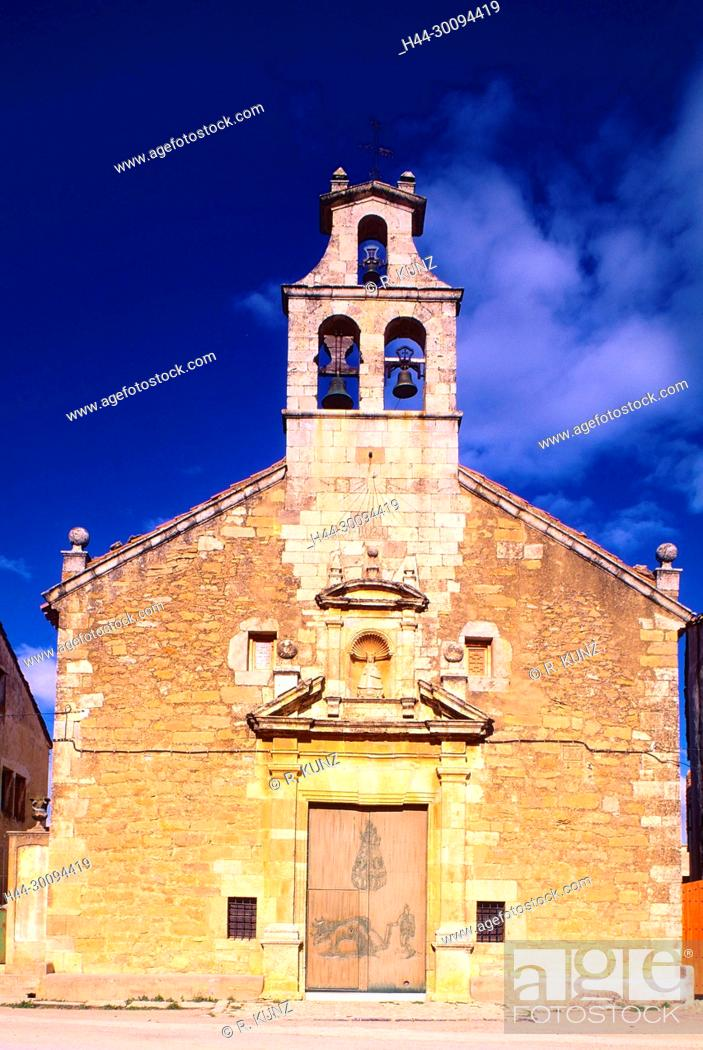 Stock Photo: Eremita Mare de Deu del Llosar, Villafranca, Province of Castellon, Spain.